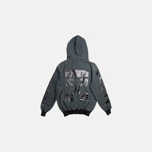 ARROW ZIPPED HOODIE