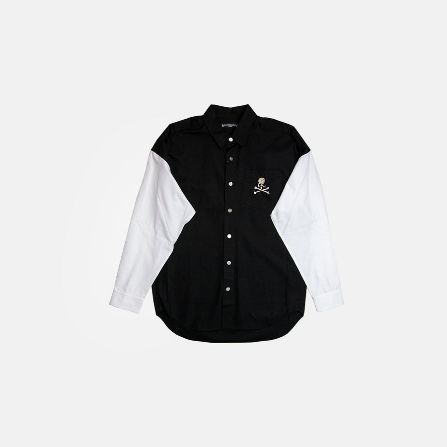 EMBROIDERED CONTRAST SHIRT