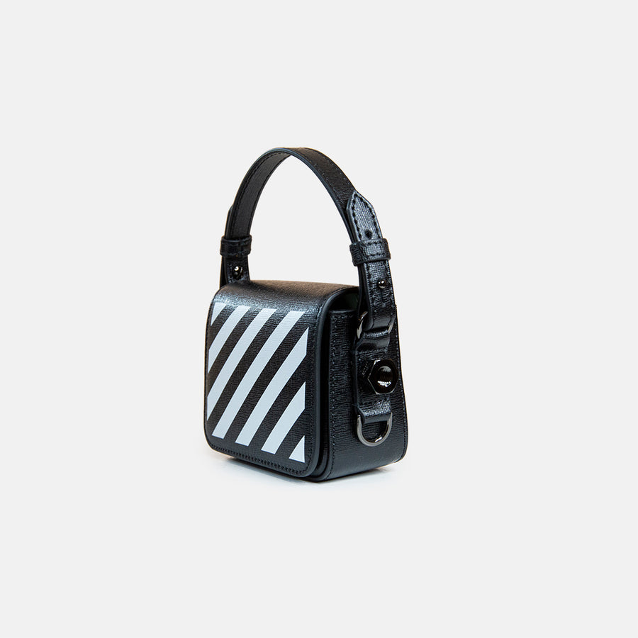 MINI DIAGONAL FLAP BAG