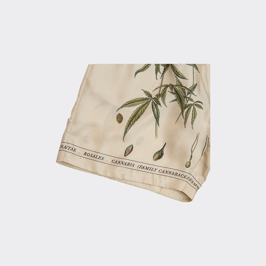 BOTANICAL LEAVES BERMUDA SHORTS