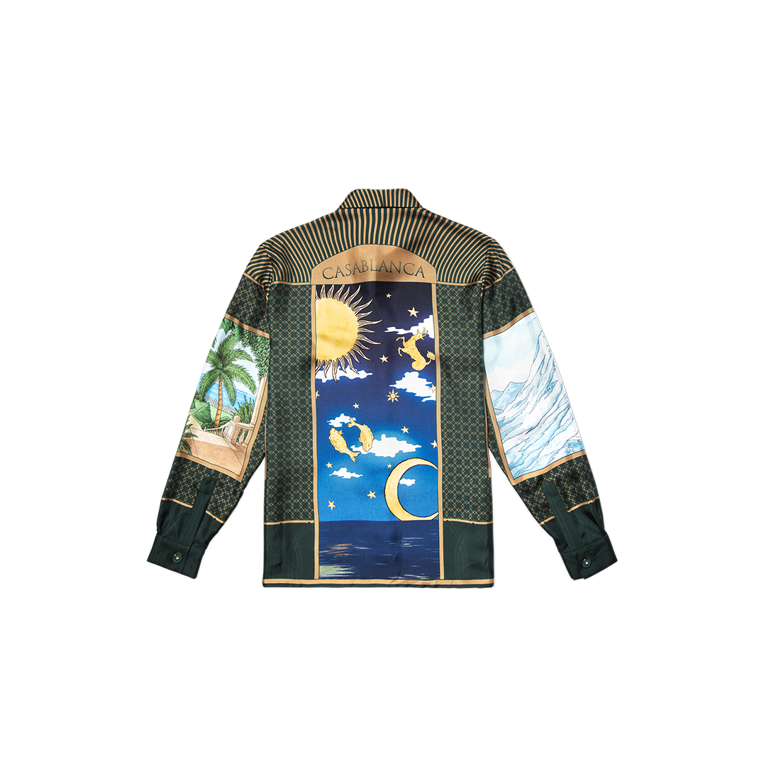 SOUND OF THE WAVES LONG SLEEVE SHIRT