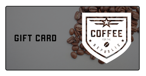 Coffee for the Republic Digital Gift Card