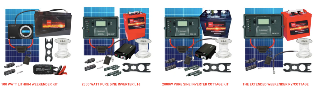 Cottage and RV Solar Kits