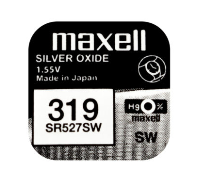 319 MAXELL WATCH BATTERY BUTTON CELL - 5 Pack