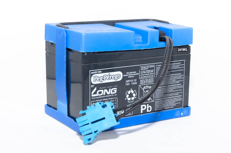 Peg Perego 12v 12AH Blue Battery IAKB0501
