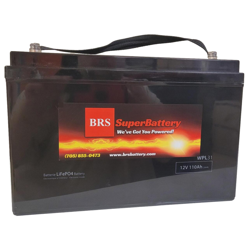 12V 100Ah LiFePO4 DeepCycle Lithium Battery GR-31 WPL31