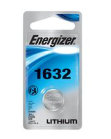 CR1632 ENERGIZER3V LITHIUM COIN CELL - 6 Pack