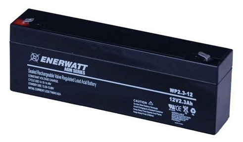 Enerwatt WP2.3-12 BATTERY AGM 12V 2.3A SEALED 10-121-10166