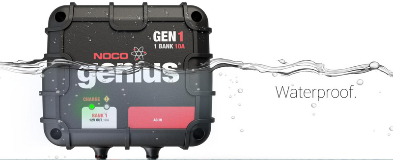 GEN1  1-Bank 10A On-Board Battery Charger