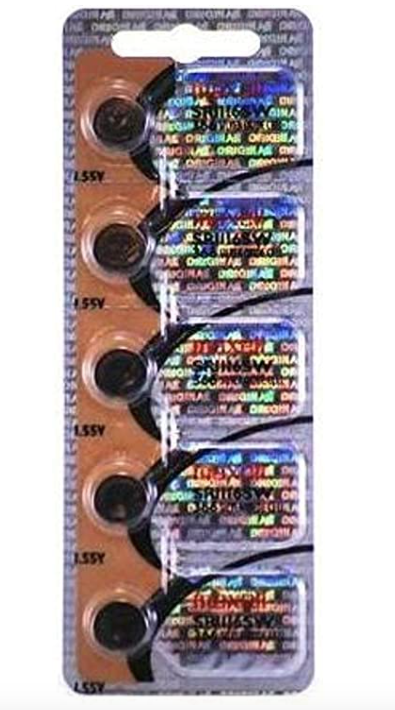 366 MAXELL WATCH BATTERY BUTTON CELL - 5 Pack SR1116SW