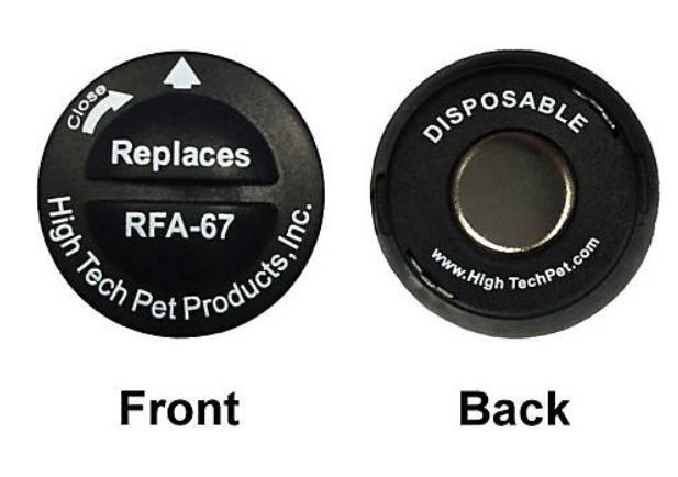 RFA-67-2 DOG COLLAR REPLACEMENT BATTERY