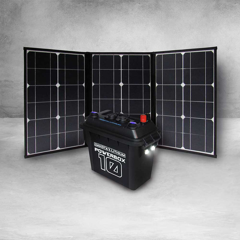 DAKOTA LITHIUM POWERBOX 10, 12V 10AH BATTERY INCLUDED