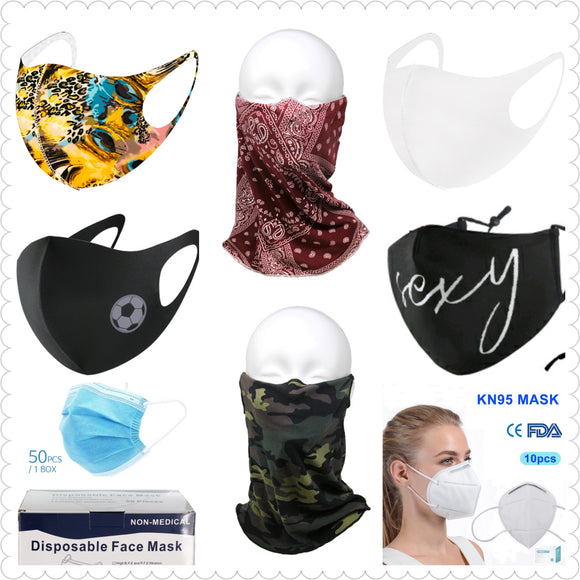 Fashion & KN95 Face Masks