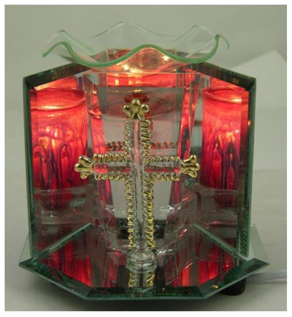 Crystal Figurine Lamps with Dimmer Switch