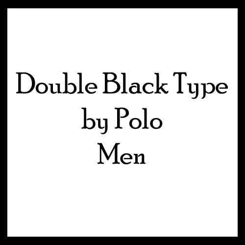Polo Double Black Type Body Oils