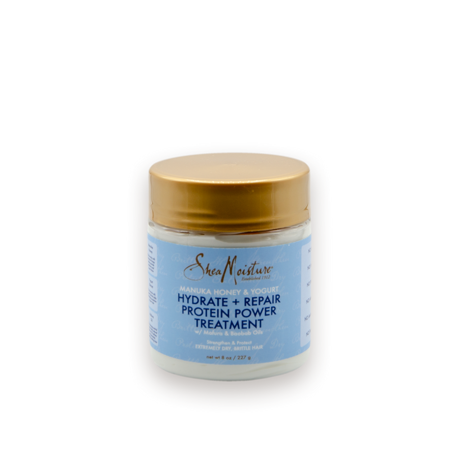 SheaMoisture Manuka Honey & Yogurt - Mască Tratament cu proteine reparatoare 220g