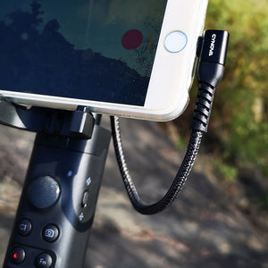 Cynova Type-C to Lightning 650mm接続ケーブルMavic Air 2 OSMO Pocketシリーズに対応
