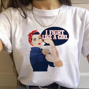 FIGHT LIKE A GIRL (Tough) - GreenSilly