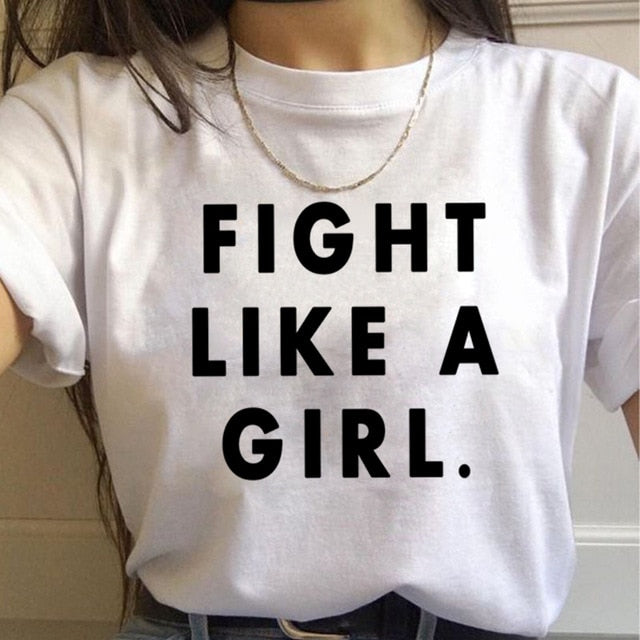 FIGHT LIKE A GIRL (Bold) - GreenSilly