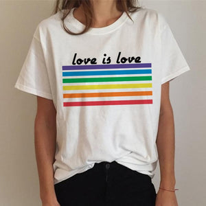 LOVE IS LOVE (Stripes) - GreenSilly