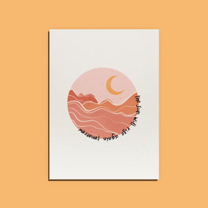 The Sun will Rise Again Print (Digital)