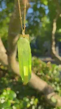 Load and play video in Gallery viewer, ON SALE! $40 OFF right NOW! The Money Charm Crystal Necklace- ONLY 6 LEFT!