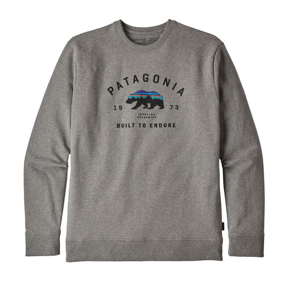 Patagonia® Men's Arched Fitz Roy Bear Uprisal Crew Sweatshirt