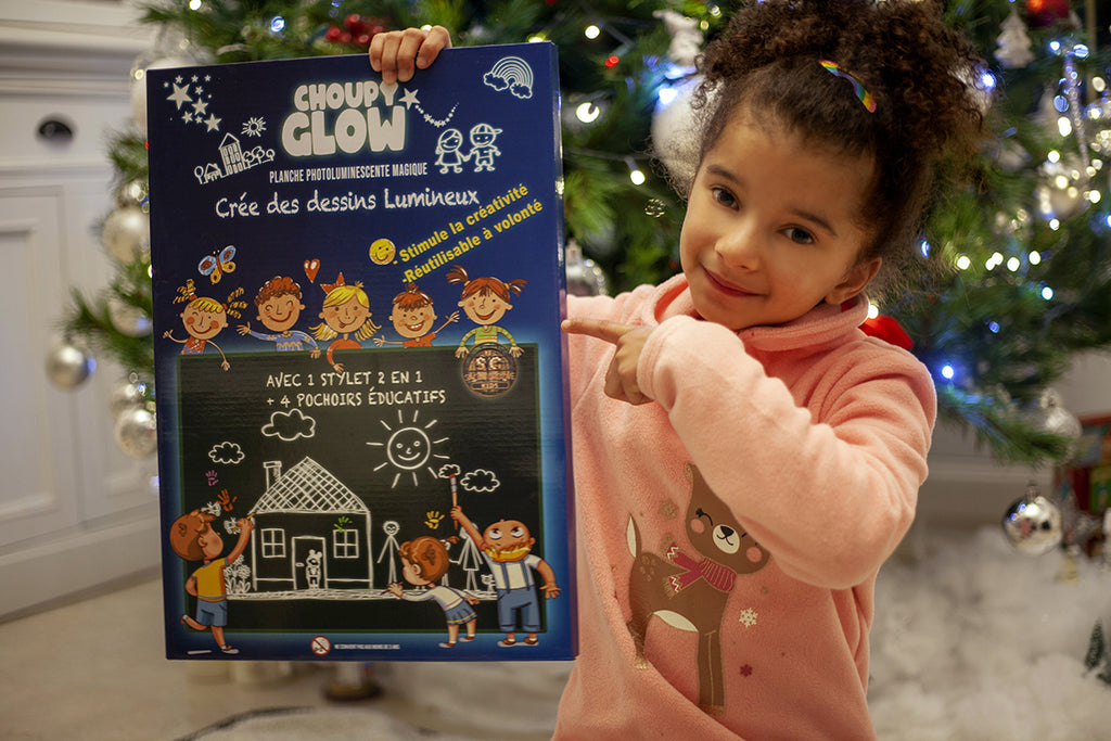 Planche Photoluminescente magique Choupy Glow | Sing N' Groove Kids