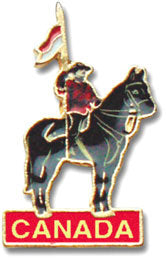 RCMP Horse and Rider Pin