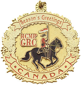 Gold Musical Ride Ornament