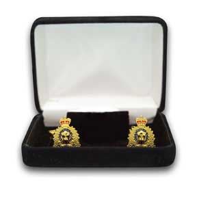 RCMP Crest Cuff Links