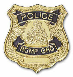 RCMP Police Badge Pin