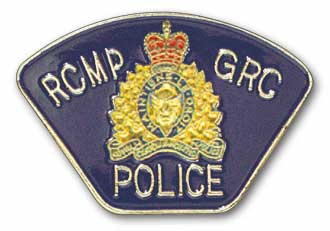 RCMP Shoulder Patch Pin