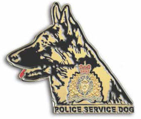 RCMP Police Service Dog Pin
