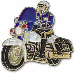 RCMP Motorcycle Pin