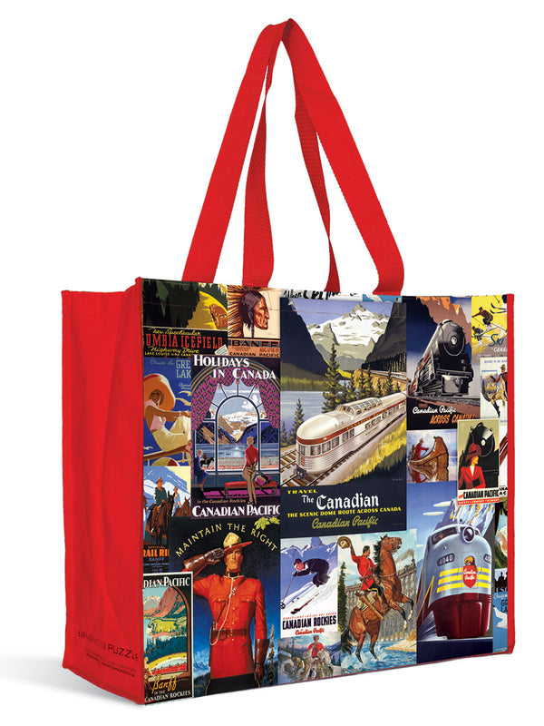 Tote Bag of Vintage Canadian Art