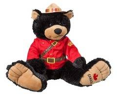 14 inch RCMP Big Foot Bear plush toy