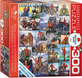 RCMP collage 300pc Puzzle
