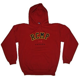 RCMP Embroidered Youth Hooded Sweatshirt