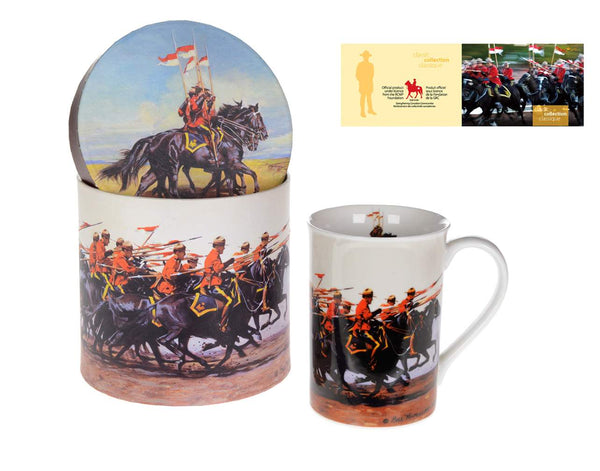 Porcelain RCMP Mug and Gift Box