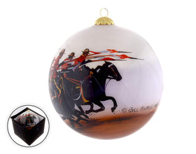 RCMP The Charge Christmas Ornament