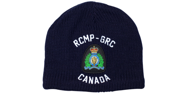Knit RCMP-GRC Crest Toque