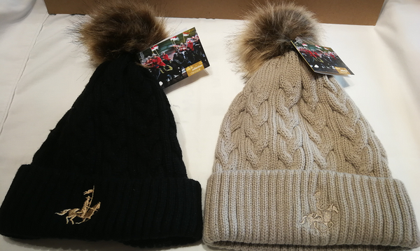RCMP Cuff Cable Knit Toque