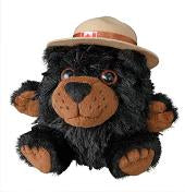 4.5 inch Mountie Bear Plush Toy