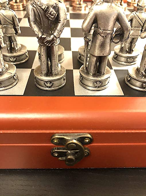 RCMP Pewter Chess Set