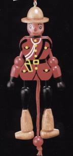 RCMP Mountie Jumping Jack