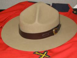 RCMP Mountie Hat- BACK IN STOCK!!