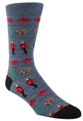 Mounties Adult Socks