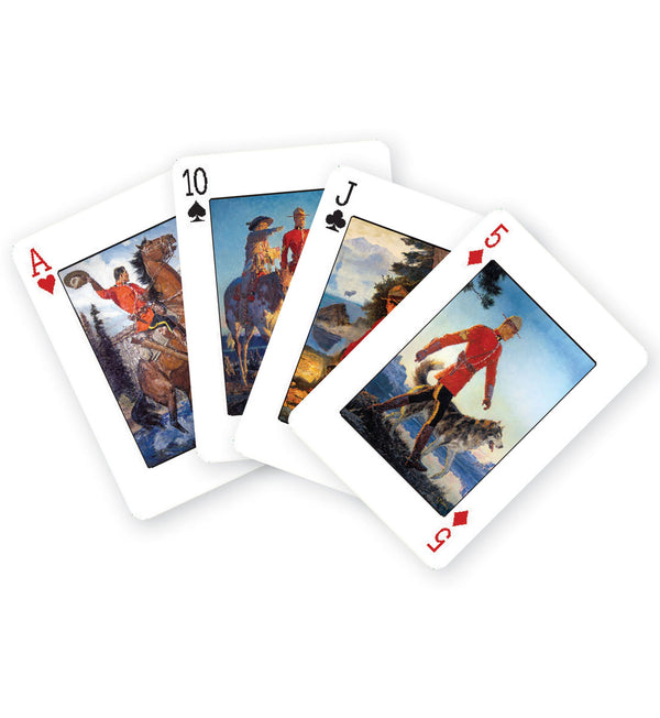 RCMP Playing Cards