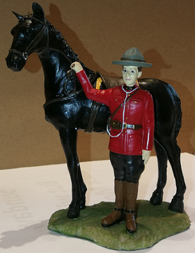 Mountie and Trusted Steed